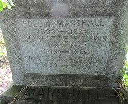 Charlotte Fifield <i>Lewis</i> Marshall