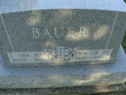 Ora Bertha <i>Ehling</i> Bauer