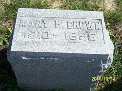 Mary <i>Lane</i> Brown