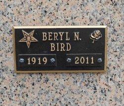 Beryl Naomi Lena <i>Fancher</i> Bird