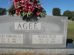 Mable <i>Dyar</i> Agee