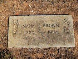 Mana Emily <i>Sikes</i> Brown