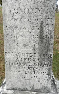 Charlotte E <i>House</i> Adams