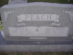 Willa Wannetta <i>Wisehart</i> Peach