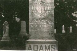 Elizabeth Lizzie <i>Cole</i> Adams