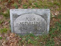 Pvt John Altmiller