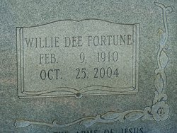 Willie Dee <i>Fortune</i> Allen