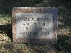 Mary Maude <i>Cunningham</i> Bryant