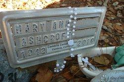 Mary Ann Ashcroft
