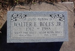 Velda <i>Henry</i> Boles
