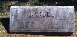 Lillie <i>Alexander</i> Barbee