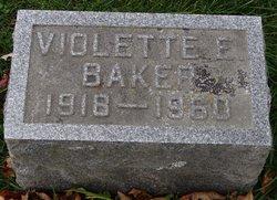 Violette E. <i>Weers</i> Baker