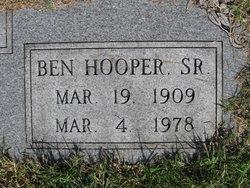 PFC Ben Hooper King, Sr