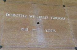 Dorothy <i>Williams</i> Groom