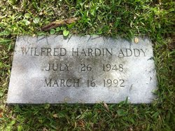 Wilfred Hardin Addy