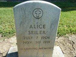 Alice Marie <i>Craig</i> Seiler