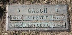 Frances G <i>King</i> Gasch