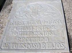 Isabel <i>Acu�a de</i> Rosa