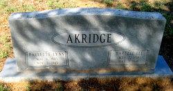 Hartzel Lee Akridge