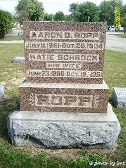 Aaron D Ropp