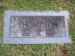 Katherine <i>Hilliard</i> Thompson