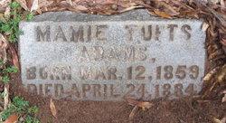 Mamie <i>Tufts</i> Adams