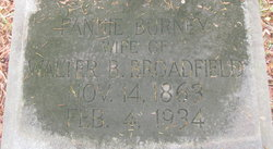 Fannie <i>Burney</i> Broadfield