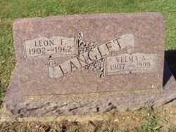 Velma A. <i>Mayer</i> Langlet