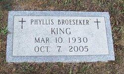 Phyllis <i>Broeseker</i> King