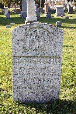Martha P <i>Hughes</i> Baker