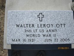 Lieut Walter Leroy Ott