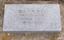 Ollie N Hill
