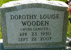 Dorothy Louise Wooden