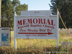 Memorial Freewill Baptist Church Cemetery