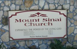 Mount Sinai Congregational Holiness Cemetery