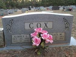 Alice Marie <i>Grimmett</i> Cox