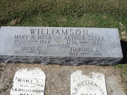 Mary A. <i>Meek</i> Williamson