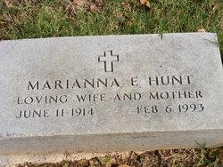 Marianna E <i>Blunk</i> Hunt