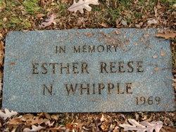 Esther <i>Reese</i> Whipple