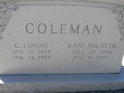 Kate <i>Polattie</i> Coleman