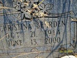 Christina <i>Bearden</i> Chambers