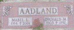 Mabel Laverne <i>Hickok</i> Aadland