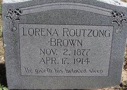 Lorene <i>Routzong</i> Brown
