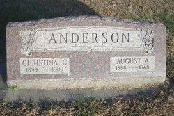 August A Gus Anderson