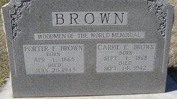 Carrie Eldora <i>McKenney</i> Brown
