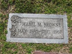 Mabel M Browne