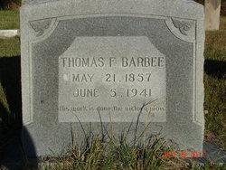 Thomas F Barbee