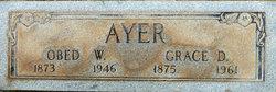 Grace D <i>Doyle</i> Ayer