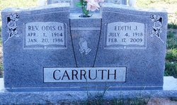 Edith Jessie <i>Clem</i> Carruth