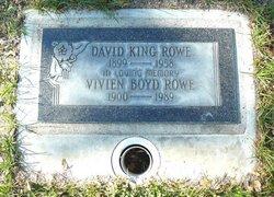 David King Rowe, Sr